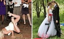15 najčudnijih prizora koje su ljudi slikali na svadbama