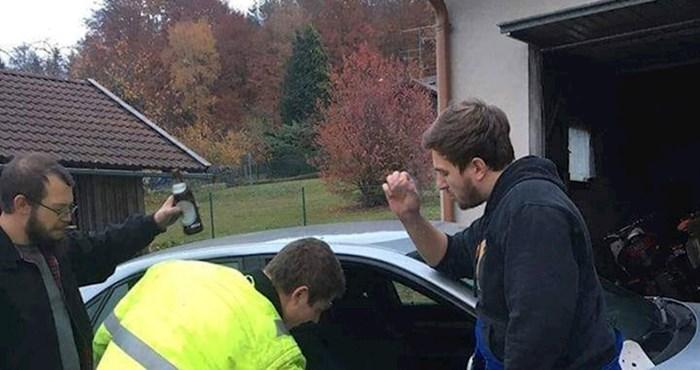 Pozvao zidara da mu popravi auto?! Pogledajte zašto se ova fotka nasmijala mnoge