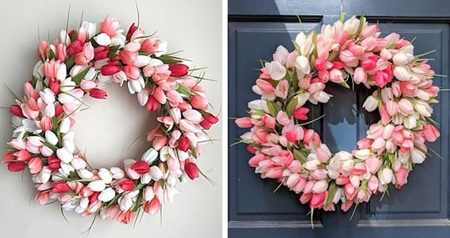 Svidjelo joj se cvijeće na jednom web shopu pa ga je naručila, uživo joj je izgledalo još bolje.