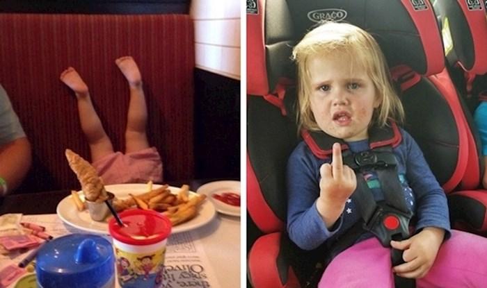 15 smiješnih slika male djece koja nisu ni shvaćala da nešto ne rade kako treba