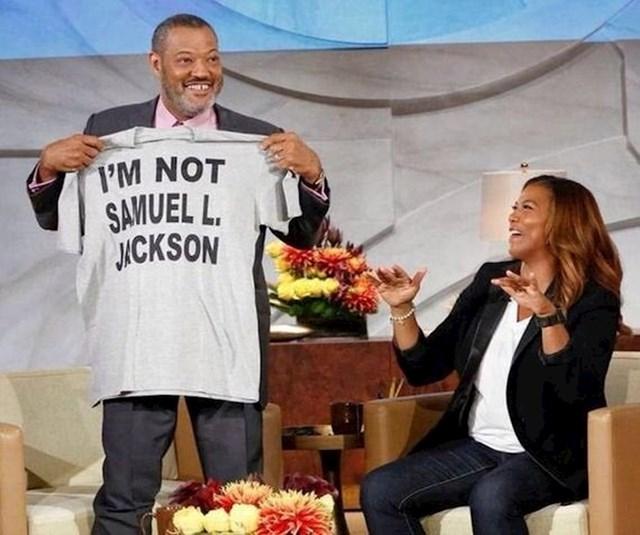 Napravio je majicu jer ljudi stalno misle da je Samuel L. Jackson.