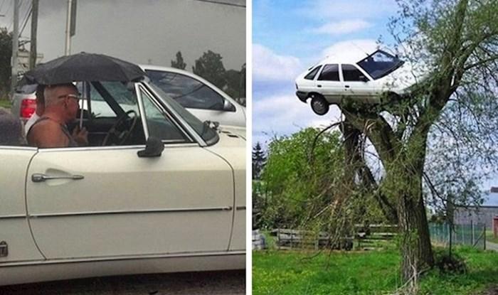 20 vozača podijelilo je slike najčudnijih prizora koje su vidjeli za volanom