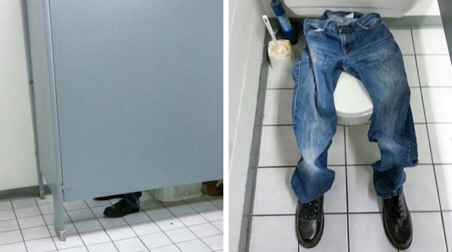 Nikome nije bilo jasno što ovaj lik radi toliko na WC-u.