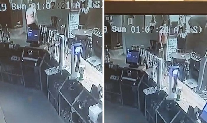 VIDEO Vlasnici su uvjereni da je njihov kafić uklet, snimka nadzorne kamere objašnjava sve