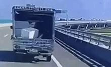 Vozač je na autocesti snimio čudan prizor, pogledajte što se dogodilo pred njegovim očima