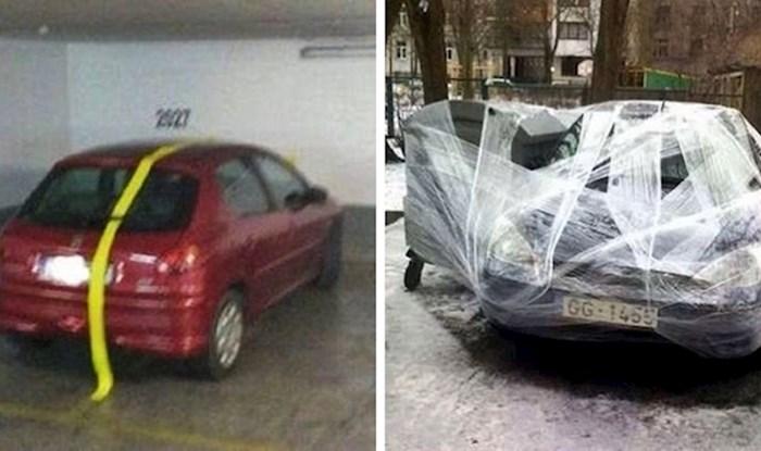 Parkirali su se kao bezobzirni divljaci pa su im se ljudi osvetili na genijalan način