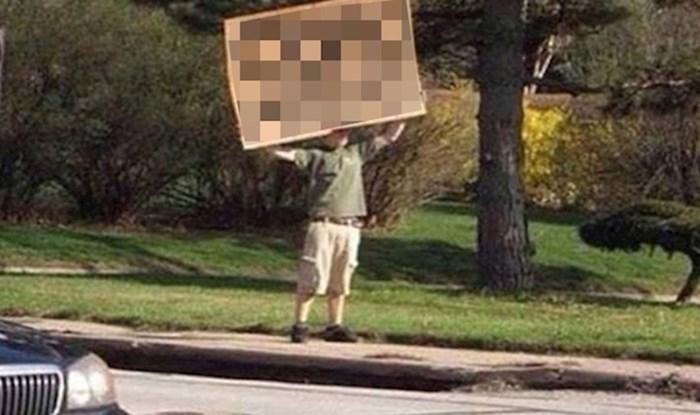 Policajci su mu napisali kaznu zbog brze vožnje, on im se na smiješan način osvetio