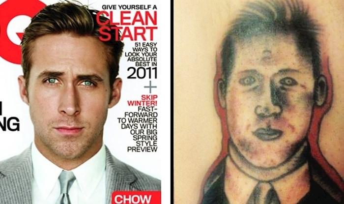 Ljudi su podijelili slike svojih užasnih portret tetovaža koje su im uništile izgled