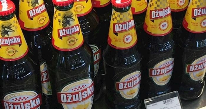 """Uslikao je boce piva i zbunio društvene mreže: """"Ovo je vjerojatno samo u Hrvatskoj moguće!"""""""