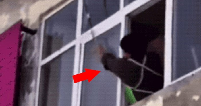 Mladić je uspio štapom uništiti osinjak, no onda se dogodilo nešto s čim nije računao