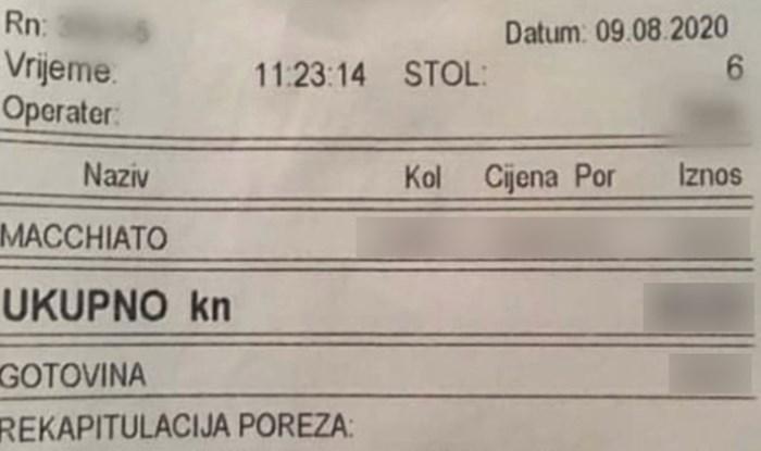 Neugodno su se iznenadili kad im je stigao račun za kavu, pogledajte koliko je koštala
