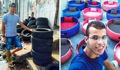 Mladić je oduševio vlasnike životinja nakon što je došao na ideju kako iskoristiti stare automobilske gume