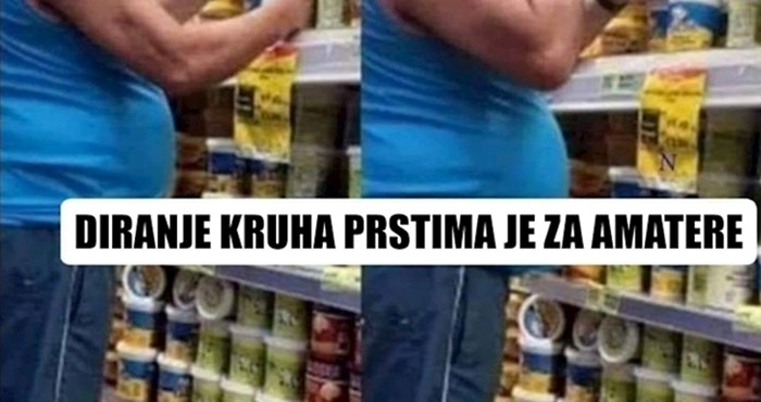 Netko je u supermarketu slikao odvratnu scenu zbog koje je odustao od kupnje
