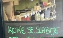 Dućan nije imao dovoljno jaja za prodaju pa su napisali opravdanje koje je nasmijalo kupce