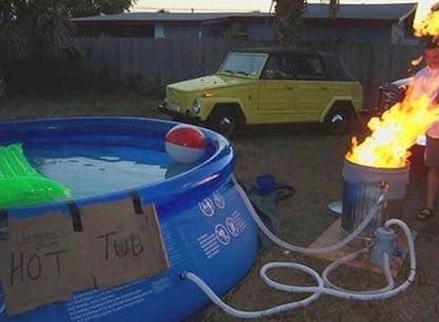 Kako ugrijati vodu za bazen.