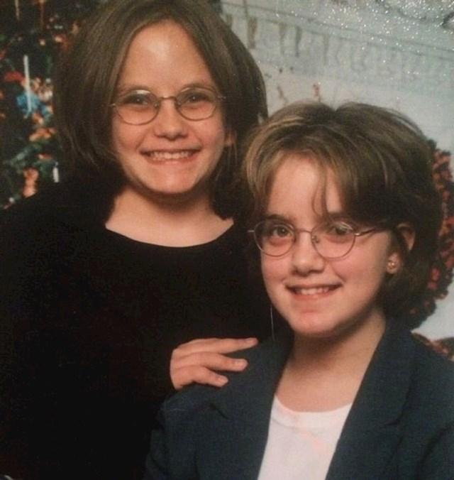 """""""Bile smo djeca, no sestra i ja smo izgledale kao odrasle žene na ovoj fotki."""""""