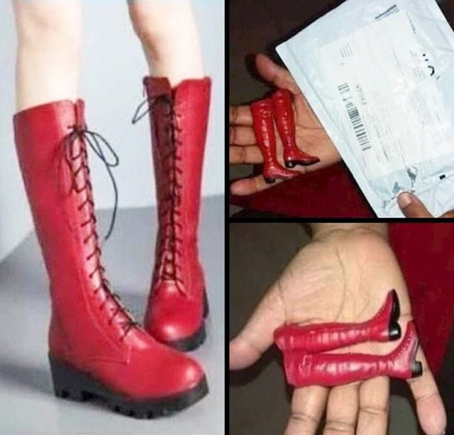 Partnerici je naručio obuću...