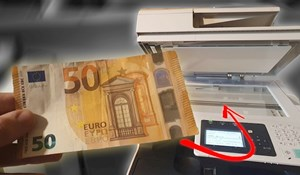 VIDEO Lik je pokušao fotokopirat novčanicu od 50 eura, dogodilo se nešto što nije očekivao