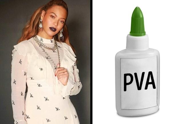Beyonce - ljepilo za drvo kao ljepilo za obrve
