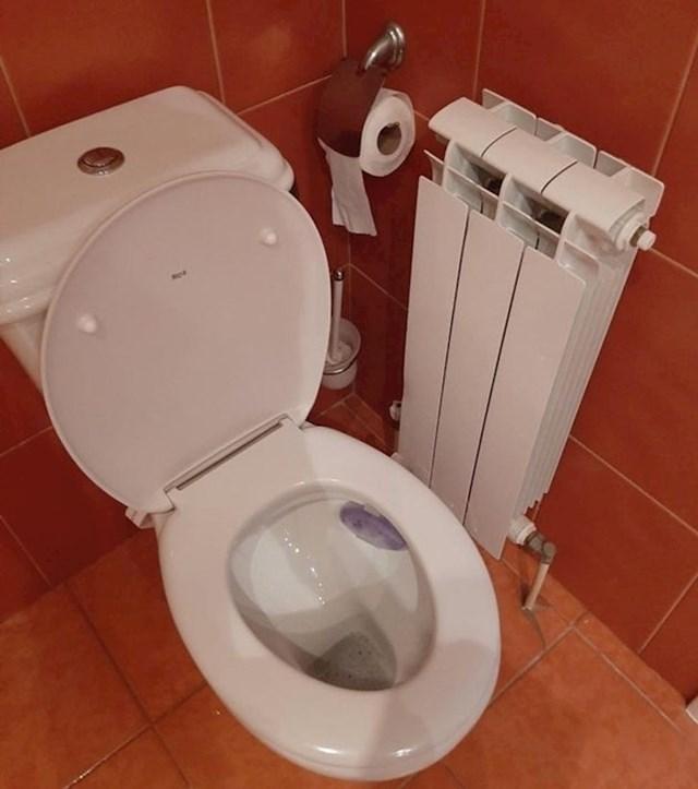 Loš raspored u WC-u
