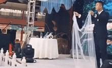 Na ovom vjenčanju su izveli zanimljiv trik kakav još nikad niste vidjeli