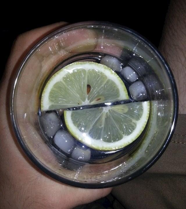 Savršeno piće za ljubitelje simetrije...