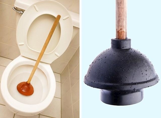 Jeste li znali da za odčepljivanje WC-a trebate posebnu vrstu vakuumske gume, a ne onu koju svi imamo kod kuće?