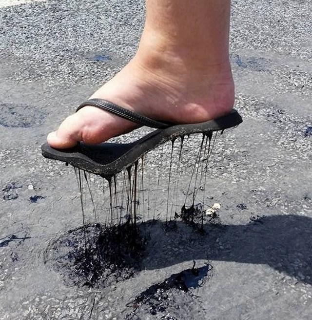 U Australiji je bilo toliko vruće da su se ceste bile počele topiti.