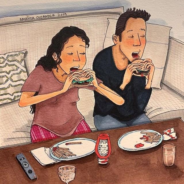 """""""Ajmo gledati onu našu seriju dok jedemo!"""""""