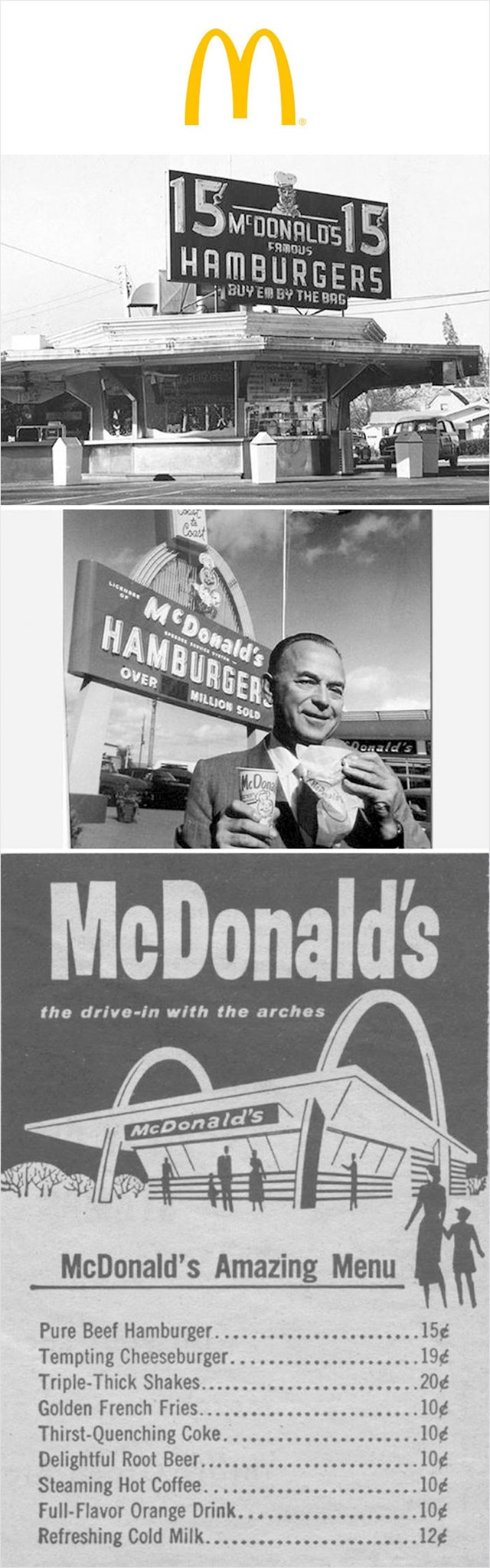 Prvi McDonald's (1955.)