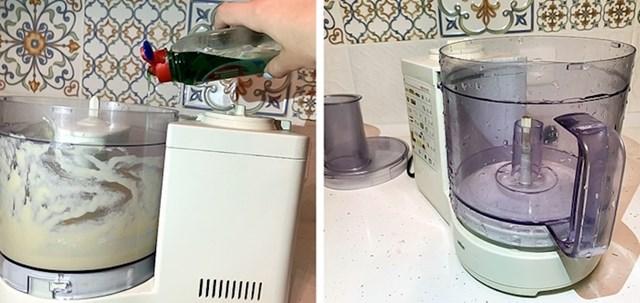 Multipraktik ćete lako očistiti ako u njega dodate vodu i malo deterdženta te ga uključite. Zatim ga samo isperite čistom vodom.
