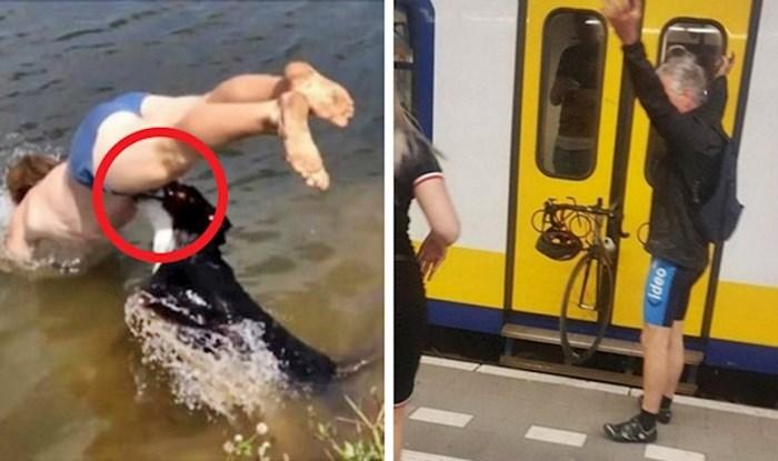 Nije to bio njihov dan 😅 Ovi ljudi su slikali nezgode koje neće tako lako zaboraviti