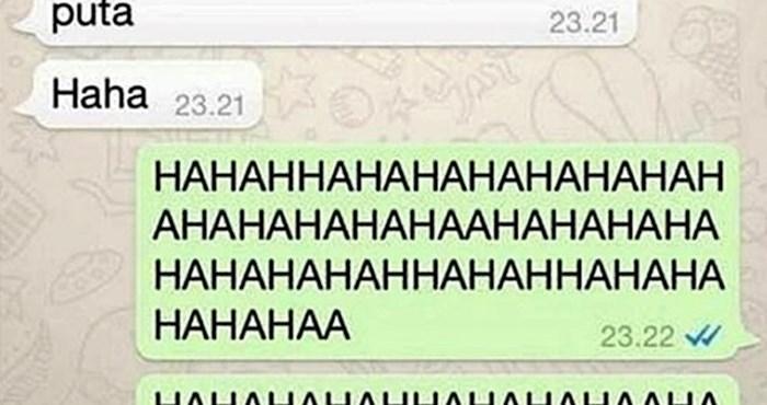 Djevojka mu je pisala romantične poruke, a onda joj je poslao odgovor zbog kojeg se nije mogla prestati smijati