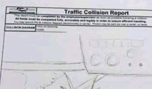Vozač je napravio izvještaj o prometnoj nezgodi, policajci ovako nešto nikad nisu vidjeli
