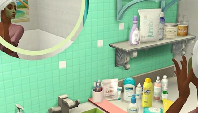 """""""Čak i moj lik u Simsima ima brdo kozmetičkih proizvoda. Mislim da trebam malo odmoriti od ove igre."""""""