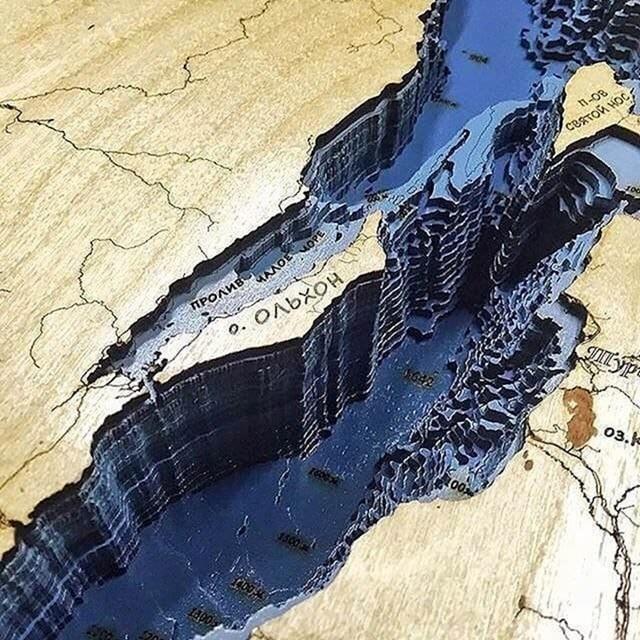 Nevjerojatna dubina Bajkalskog jezera