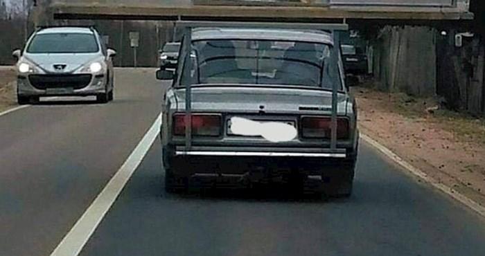 Bizarna scena na cesti: Ostali vozači nisu mogli vjerovati svojim očima kad su vidjeli ovo