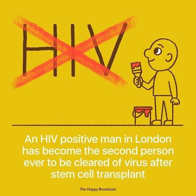 HIV pozitivan muškarac u Londonu postao je druga osoba ikad koja se potpuno očistila od tog virusa zahvaljujući tretmanu matičnim stanicama.
