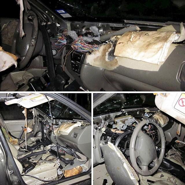 Što se dogodi kad vam medvjed uđe u auto...