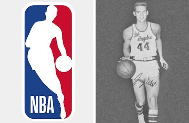Logo NBA lige i Jerry West
