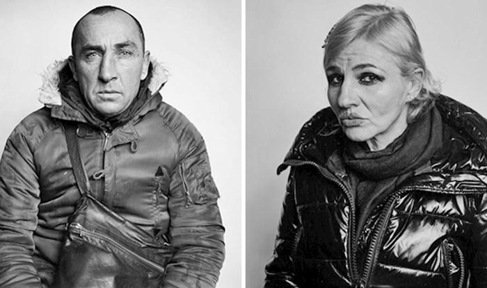 Fotograf je ljudima plaćao 2 eura kako bi ih smio slikati, pitao ih je na što će potrošiti novac