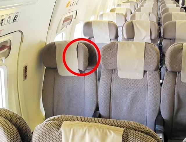 Sjedala u zrakoplovu se mogu prilagoditi kako biste ugodnije spavali.