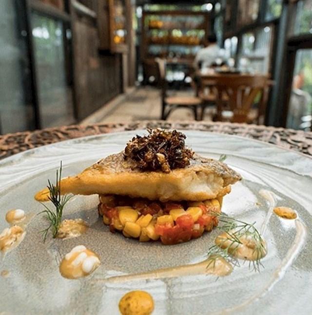 Tajlandski restoran s finim kukcima mogao bi promijeniti vaš pogled na gurmansku hranu.
