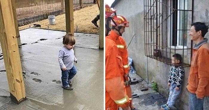 Urnebesne fotke koje dokazuju da je život s djecom uvijek pun smiješnih iznenađenja