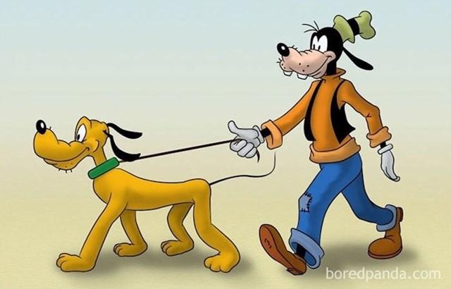 Pas ima psa? Jedan je ljubimac, drugi je vlasnik.