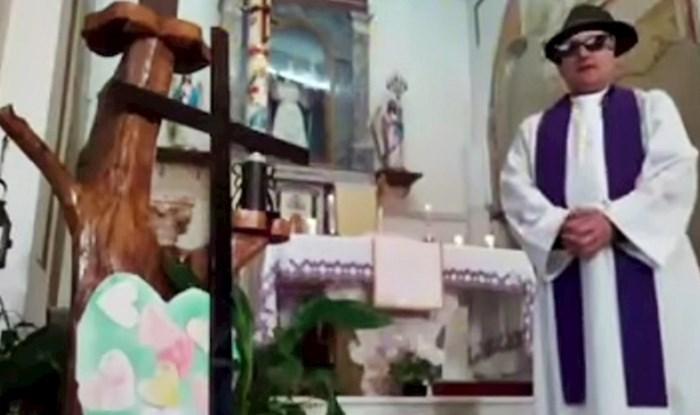 Svećenik koji je htio uživo prenositi misu slučajno je uključio filtere te nasmijao gledatelje