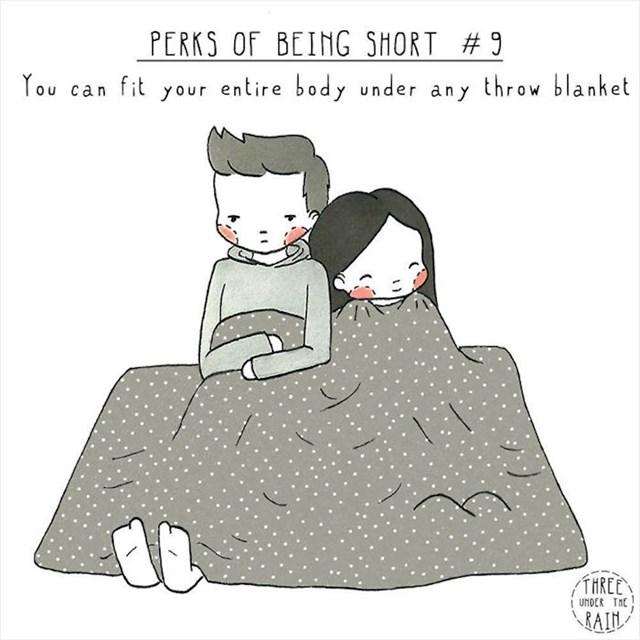 #9 Bez problema stanete pod bilo koji pokrivač.
