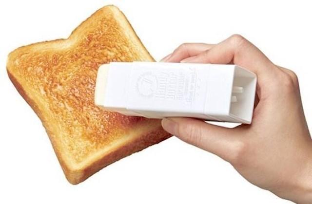 Ovo je odlična ideja - pomagalo za mazanje maslaca na tost / kruh.