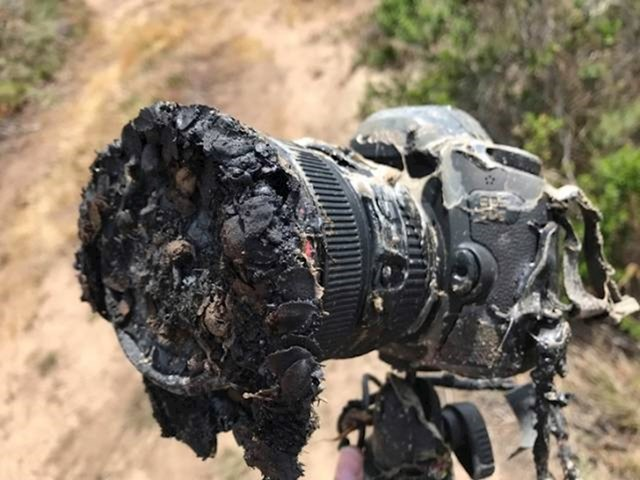 Ovaj fotoaparat se istopio prilikom snimanja lansiranja SpaceX Falcon 9 rakete.