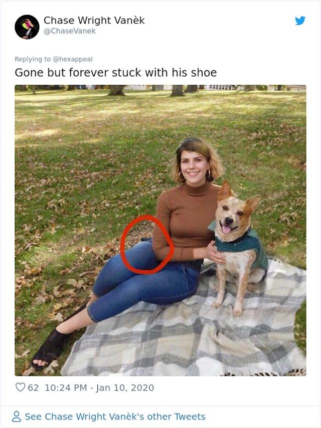 Javio se i netko tko je primijetio jednu njenu greškicu na primjeru koji je objavila: